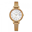 Citizen Watch EW2447-89A vergoldete Damenuhr mit...