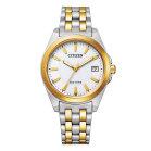 Citizen EO1214-82A Vergoldete Unisex Armbanduhr mit Eco...