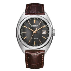 Citizen NJ0100-03H retro automatic watch in puristic design
