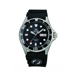 Orient Mens Automatic Sports Watch Ray II with Rubber...