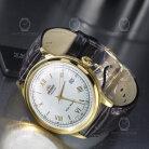 Orient Classic Gold Bambino Herren-Armbanduhr 40.5mm Automatik FAC00007W0