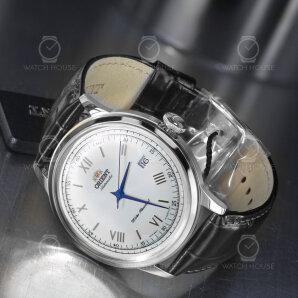 Orient Classic Silver Bambino Mens Wrist Watch 40.5mm Automatic FAC00009W0