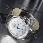 Orient Classic Silver Bambino Mens Wrist Watch 40.5mm...