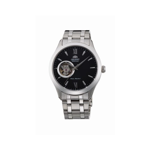 Orient Modern Automatic Trapezoid schwarze FAG03001B0 Herrenuhr