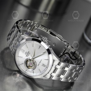 Orient Modern Automatic Trapezoid Metal-Silver FAG03001W0...