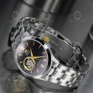 Orient Modern Automatic Trapezoid Metal-Black FAG03002B0 Mens watch