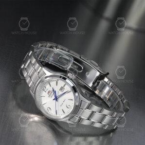Orient Lady Automatic Charlene Metal silver blue hands FNR1Q005W0