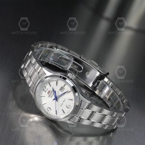 Orient Lady Automatic Charlene Metal silver blue hands...