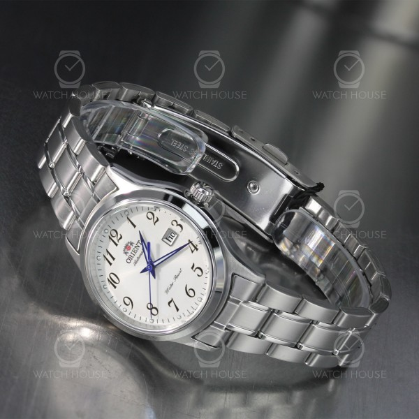 Orient Lady Automatic Charlene Metal silver arabic numbers FNR1Q00AW0