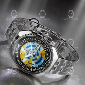Orient Automatic World Map Revivel Color of Earth RA-AA0E04Y09B
