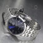 Orient Automatic Symphony IV Metal Silver-Blue RA-AC0F09L10B