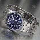 Orient Automatic Flight II Silver Blue RA-AC0H01L10B
