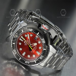 Orient M-Force Automatic Diver Red RA-AC0L02R00B