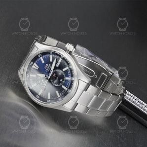 Orient Automatic Metal Diary Blue RA-AK0401L10B