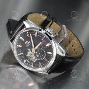 Orient triple Circle Leather Dark Brown RA-AR0005Y10B