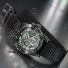 Orient Retro-Future Camera-Style Black and Green Leather RA-AR0202E10B