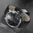Orient Quarz Chronograph Classic Black Leather RA-KV0404B10B Men