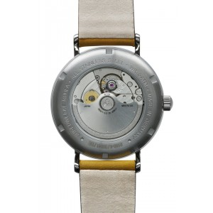 Bauhaus men automatic watch with power reserve 2160-4...