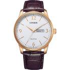 Citizen Rose Gold Collection BM8553-16AE Men Eco Drive