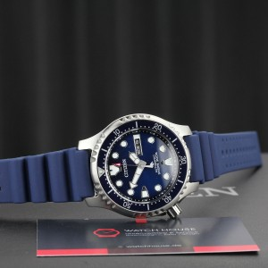 Citizen Promaster Marine NY0141-10LE automatic watch ISO6425