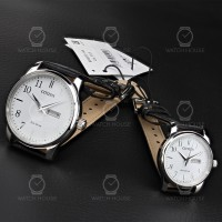 Citizen Basic Watches in Steel for couples PSC16