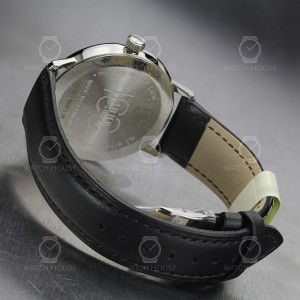 Iron Annie Mens Watch 5044-2 Bauhaus in black with domed...