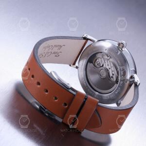 Bauhaus Herren Automatikuhr 2160-1 Silber - Gangreservenanzeige