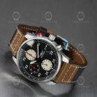 Iron Annie F13 Tempelhof Mens Chronograph 5670-2 Black/Brown