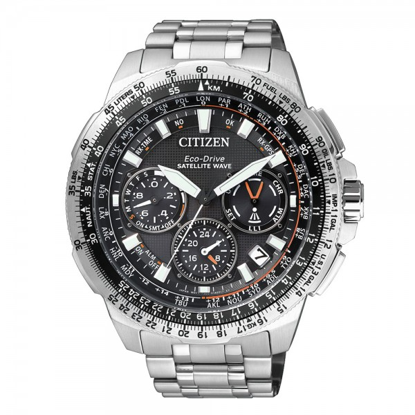 Citizen Satellite Wave CC9020-54E Super Titanium Eco Drive Herren Chrono