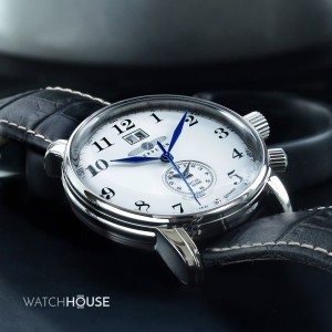Zeppelin LZ127 Graf Zeppelin Dual Time 7644-1 Herrenuhr