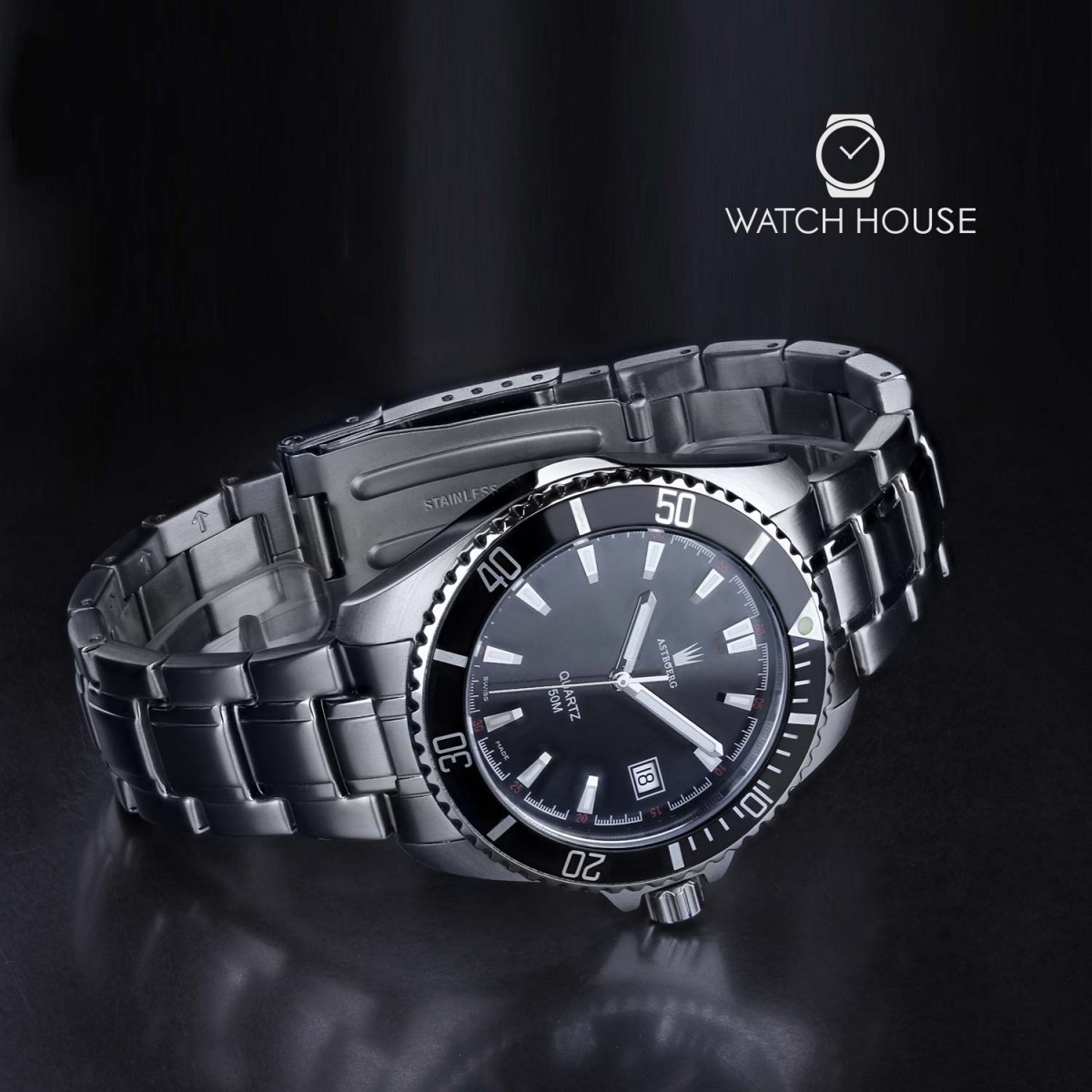 Astboerg Swiss Made Ocean AT2703MS Herren Armbanduhr