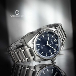 Citizen Super Titanium Blue Sea Herrenuhr AW1240-57L
