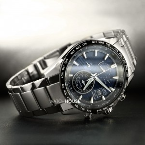 Citizen Super Titanium AT8154-82L Herren Chrono 4 Zonen...