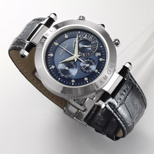 Juwelis Helios Diamond Herrenuhr JW0601SB Chronograph Diamanten
