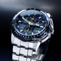 Citizen Promaster Sky Mens watch JY8058-50L Blue Angels Chronograph Radio Controlled