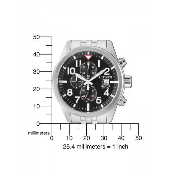 Citizen Basic Herren Armbanduhr AN3620-51E Chronograph