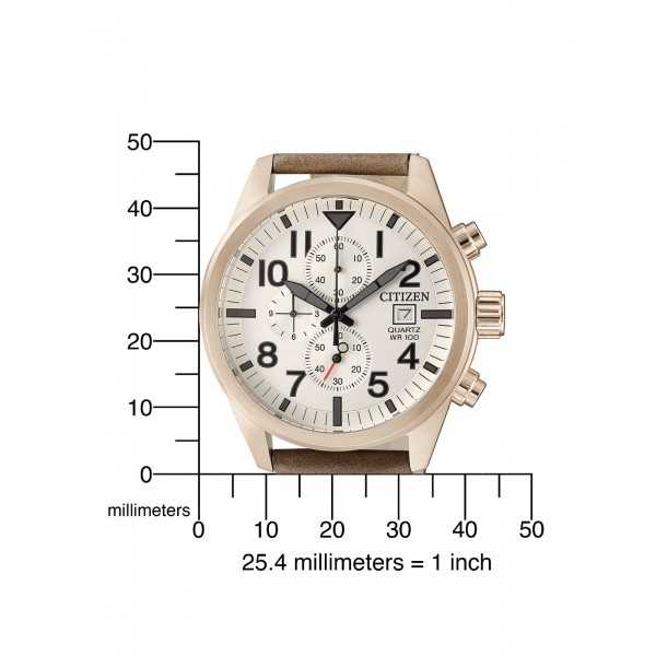 Citizen Basic Herren Armbanduhr AN3623-02A Chronograph
