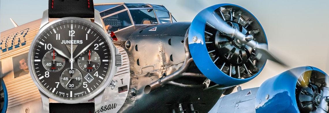 Uhren nicht nur für Piloten
